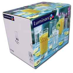 OCTIME SZKLANKI 330ml LONG DRINK 6 szt LUMINARC