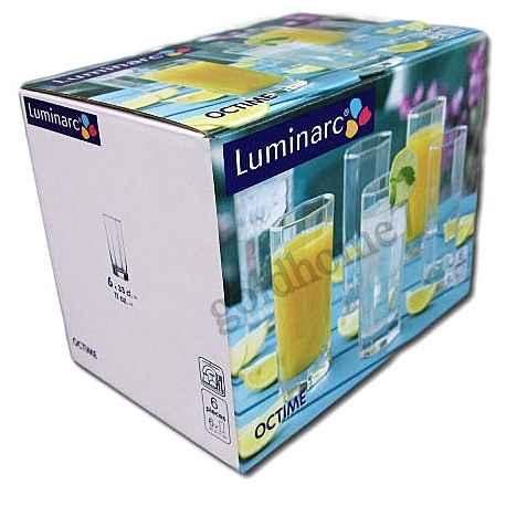 OCTIME SZKLANKI 330ml LONG DRINK 6 szt LUMINARC