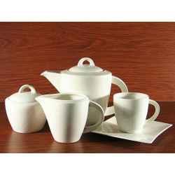 Serwis Kawowy Herbaciany 15el na 6 osób WHITE