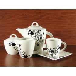 Serwis Kawowy Herbaciany 15el na 6 osób PORTO