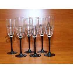 Kieliszki do szampana 17cl Domino-6 szt Luminarc
