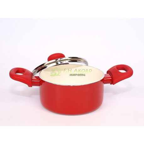 FUSION RED GARNEK GARNKI ceramiczny 16cm AMBITION