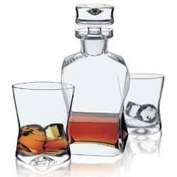 Zestaw Karafka i 6-szklanek do whisky LIFESTYLE KROSNO