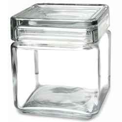 SŁOIK słoiki Landmark kwadratowy szkło 750 ml
